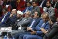 حلالیت طلبی نماینده مجلس از استاندار فارس در حاشیه افتتاح یک طرح