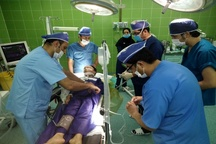 اولین عمل جراحی مغز و اعصاب در تایباد  خارج کردن میخ از سر پسربچه 10 ساله