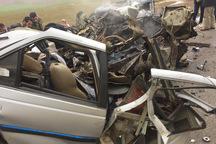 تصادف 2 خودرو در ارومیه موجب جان باختن 2 نفر شد