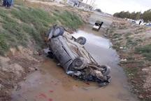 سانحه رانندگی در میاندوآب یک کشته و 2 زخمی برجا گذاشت