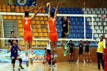 تیم والیبال شهداب یزد بر شهروند نکا مازندران غلبه کرد