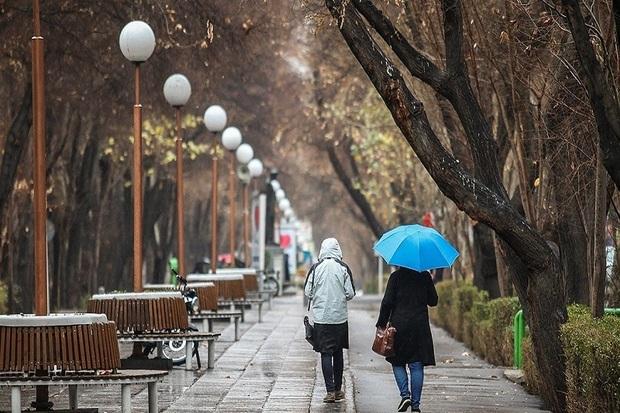 سامانه بارشی روز جمعه وارد استان اصفهان می شود