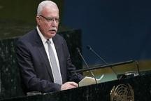 وزیرخارجه فلسطین: آمریکا درحال جنگ با مردم ماست
