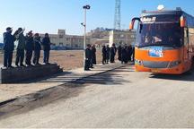 200 دانش آموز دختر مراغه ای عازم مناطق عملیاتی شدند