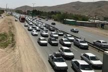 ترافیک در خروجیهای خراسان رضوی پرحجم است