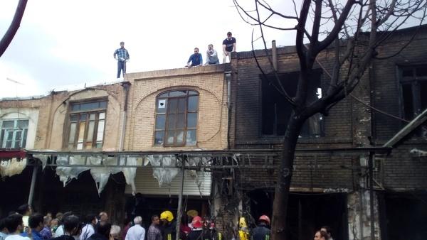 تعویق اعلام علت آتشسوزی بازار تبریز   دستیابی به اطلاعات جدید برای کشف واقعیت