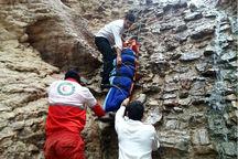 جوان ۳۳ ساله بر اثر سقوط در دره راگه رفسنجان جان باخت