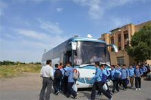 1500 مددجوی آذربایجان شرقی در اردوهای زیارتی شرکت می کنند