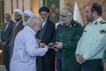 پیشکسوتان جهاد و مقاومت استان کرمانشاه تجلیل شدند