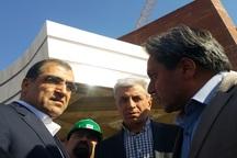 وزیر بهداشت از پروژه های در حال ساخت تربت حیدریه بازدید کرد