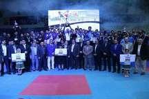 تیم شهرداری ورامین ایران قهرمان مسابقات تکواندوجام باشگاههای آسیا شد