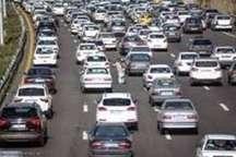 ثبت بیش از یک میلیون و300 هزارتردد خودرو طی 24 ساعت گذشته درالبرز
