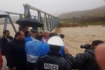 خسارت همزمان سیل و طوفان در اصفهان