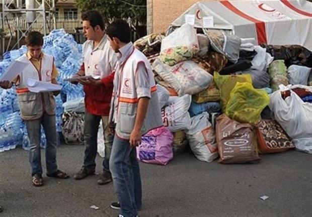 کمک های مردمی البرز از طریق فرودگاه پیام ارسال می شود
