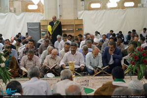 محفل انس با قرآن در حرم مطهر حضرت معصومه(س)