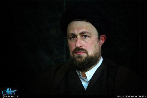 تسلیت سید حسن خمینی به عباس سلیمی نمین