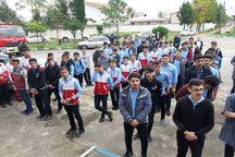 دانشآموزان تالشی امداد و نجات در زلزله را تمرینکردند
