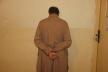 قاتل فراری در سراوان دستگیر شد