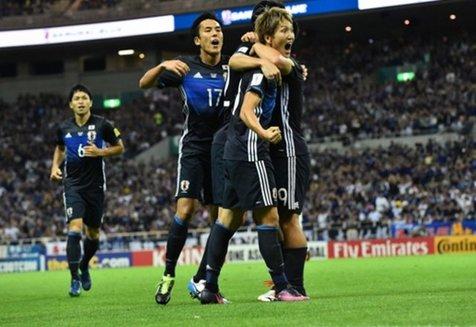ژاپن با پیروزی مقابل استرالیا به جام جهانی صعود کرد