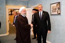رئیسجمهور روحانی: تحول بزرگی در سطح روابط تهران - باکو  ایجاد شده است