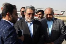 وزیر کشور وارد ثلاث باباجانی شد  دلجویی از مردم منطقه و برآورد خسارتهای زلزله اخیر