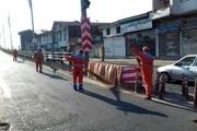 هفته پنجم از پاکسازی محلات نواحی ۱۵ گانه شهرداری رشت برگزار شد