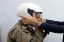 150 کلاه ایمنی میان موتورسواران مبارکه توزیع شد