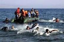 20 پناهجو در دریای مدیترانه غرق شدند