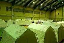 فعالیت ١٨ تیم امداد و نجات در سرپل ذهاب  برپایی دو اردوگاه اسکان اضطراری برای سیل زدگان
