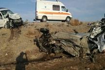 برخورد تریلر و سواری در جاده کاشان- بادورد سه کشته برجا گذاشت