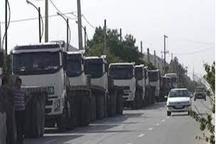 کامیون داران ساوجی خواستار رسیدگی به مطالباتشان شدند