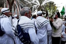 بافقیها به استقبال زائران پیاده امام رضا (ع) رفتند