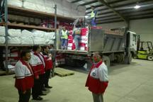 ارسال هشت کامیون کمک مردمی از خوی به مناطق زلزله زده کرمانشاه