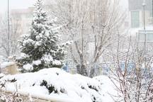 ارتفاع برف در فیروزکوه به 30 سانتی متر رسید