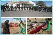 آئینهای عاشورایی شهرستان خلیل آباد ثبت ملی شد