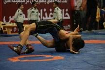 جشنواره کشتی خردسالان استان یزد آغاز شد