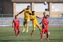 تیم فوتبال 90 ارومیه مقابل اکسین البرز شکست خورد