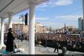 سخنرانی سید علی خمینی در راهپیمایی 22 بهمن ارومیه