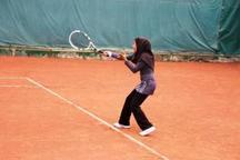 مسابقات تنیس کشوری با قهرمانی ورزشکار کرمانی پایان یافت