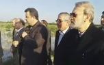 علی لاریجانی رئیس مجلس از مناطق سیلزده شرق مازندران بازدید کرد