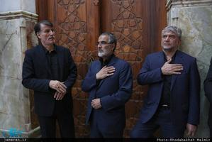 مراسم عزاداری شب تاسوعای حسینی در حرم مطهر امام خمینی (س)