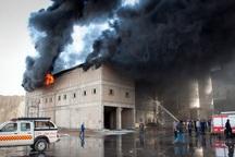 آتش سوزی کارخانه تصفیه روغن در یاسوج مهار شد
