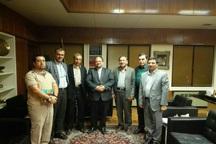 دیدار تعدادی از نمایندگان پیشین و فعالان سیاسی اهل سنت با وزیر صنعت