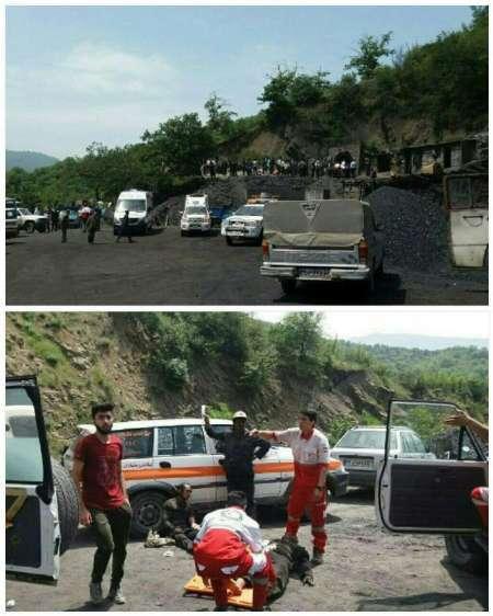 خارج شدن 16 جسد معدن کار آزادشهر  اعلام سه روز عزای عمومی در گلستان