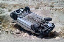 ۶ نفر در واژگونی خودروی سواری در هشترود مصدوم شدند