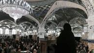 سخنرانی الهام چرخنده در نماز جمعه + تصویر