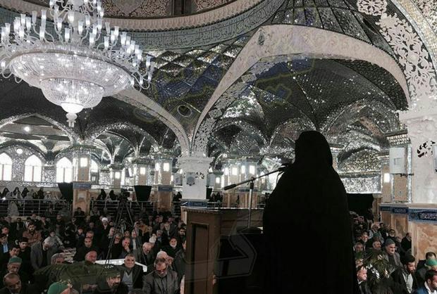 Image result for نماز جمعه الهام چرخنده