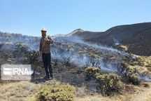 آتش سوزیهای قزوین ۳۰۰ درصد افزایش داشته است