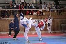 بانوان گیلانی در مسابقات تکواندو سه مدال کسب کردند