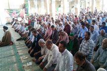 حضور گسترده مردم مهریز در آئین وحدت بخش نماز عید قربان